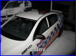 1/18 Apex Holden Hsv Commodore Gen-f Gts Nsw Highway Patrol Police Car #ar81503