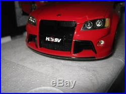 1/18 Apex Holden Hsv Commodore W427 Sting Red #ad81201 Old Stock Hard To Find