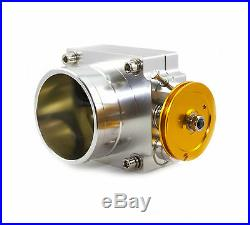 100mm Polished Throttle Body HOLDEN COMMODORE LS1 LS2 HSV VT VX VY FORD FALCON