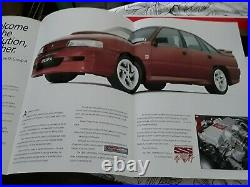 1990 Group A HSV Holden Commodore VN SS brochure ultra rare
