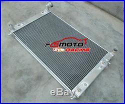 3 ROW Aluminum Radiator+Fans for Holden Commodore VT VU VX HSV V6 3.8L petrol AT