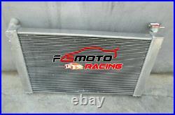 3ROW Alu Radiator + FAN FOR Holden Commodore VT VU VX HSV 3.8 V6 Twin oil cooler
