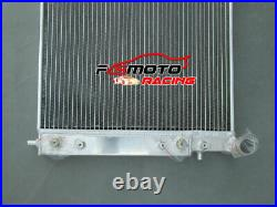 3ROW Aluminium Radiator FOR Holden Commodore VT VU VX HSV 3.8 V6 Twin oil cooler