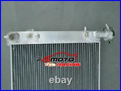 3ROW Aluminum Radiator FOR Holden Commodore VT VU VX HSV 3.8L V6 Twin oil cooler