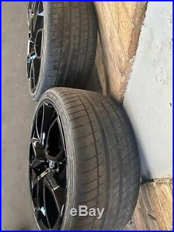 4x Genuine Holden Ve Pentagon Hsv Staggered 20 Wheels & Tyres Vf Big Brakes