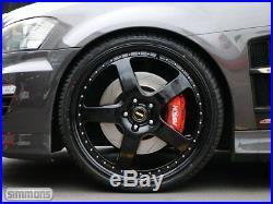 4x Genuine Simmons 22 Fr-1 Holden Vf Ve Non Staggered Wheels New Tyres Redline