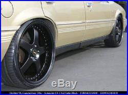 4x Genuine Simmons Commodore 20 Fr-1 Vf Ve Staggered Wheels Tyre Redline Holden