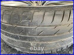 4x Lenso Commodore Holden Vf Ve 22 1 Wheels Achilles Tyres Redline Big Brake