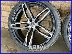 4x New Genuine Lenso 20 Vf Ve Holden Commodore Wheels & New Tyres Hsv Big Brak