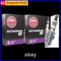 8 NGK Ruthenium Spark Plugs Holden HSV Commodore V8 VT VU VY VX VZ VE VF Iridum+