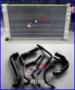 Aluminum Radiator+Black Hose for Holden VT VX VU HSV Commodore V8 GEN3 LS1 5.7L