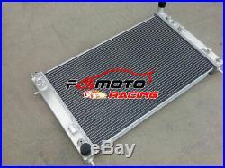 Aluminum Radiator+Shroud+Fans For Holden Commodore V8 GEN3 VT VX VU HSV LS1 5.7L