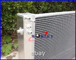 Aluminum radiator + Red hose for Holden VT VX VU HSV Commodore V8 LS1 5.7L