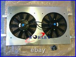 Aluminum radiator Shroud + fans for Holden VT VX HSV Commodore V8 GEN3 LS1 5.7L
