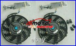 BLACK HOSE +ALU Radiator +FAN For Holden Commodore VT VU VX HSV 3.8L V6 97-02 AT