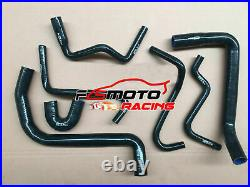 BLACK HOSE+ALU Radiator+FANS For Holden Commodore VT VU VX HSV 3.8L V6 97-02 AT