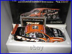 Biante 1/18 Holden Commodore 2006 Championship Winner Rick Kelly 15 Toll Hsv