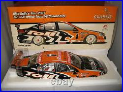 Classic 1/18 2007 Rick Kelly Toll Hsv Dealers Team Holden Ve Commodore #1 #18289