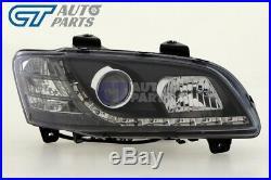DRL LED Projector Head Lights for 06-10 Holden Commodore HSV VE SV6 SV8 SS-V S1