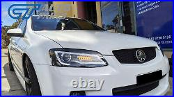 DRL LED Projector Head Lights for 06-13 Holden Commodore VE HSV SV6 SV8 S1 S2