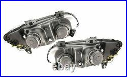 DRL LED Projector Headlights Pair for Holden Commodore VE HSV/SSV/SV (2006-10)