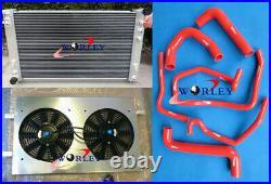 FOR Holden VT VX VU HSV Commodore V8 GEN3 LS1 5.7 Radiator & Shroud & Fan & Hose
