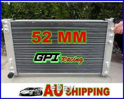 GPI aluminum radiator for Holden VT VX HSV Commodore V8 GEN3 LS1 5.7L + 2 × FANS