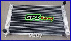 GPI aluminum radiator for Holden VT VX HSV Commodore V8 GEN3 LS1 5.7L & 2 ×FANS