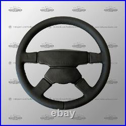 Genuine AMG MOMO Rare Mercedes Hammer Steering Wheel Leather W201 W124 W126 W140