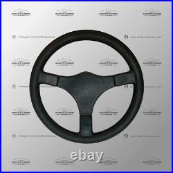 Genuine D&W MOMO C38 Black Leather Steering Wheel 380mm