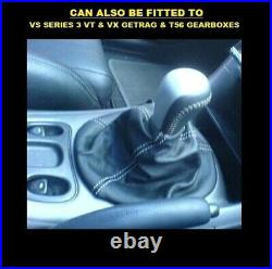 Genuine Holden HSV VY VZ V8 6 Speed Manual Shifter Knob Black Silver Commodore G