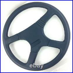 Genuine Momo Sport Jaguar 380mm Blue leather steering wheel. NOS. RARE! 7A