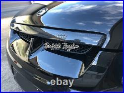 HSV GTS E1 VE carbon fiber bonnet garnish hood trim commodore holden lip spoiler
