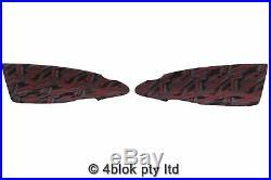 HSV VU Maloo Ute Door trim inserts pair Red Black Grey Genuine Holden Commodore