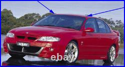 Holden HSV Commodore VT VX VY VZ GTS SS LH & RH Roof Gutter Channel Mould Trims