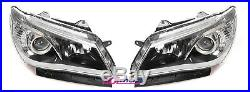Holden HSV VF Head Lights Pair Black Commodore SS SSV SV6 Calais Internationa