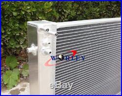 Holden VT VX HSV Commodore V8 GEN3 LS1 5.7L Aluminum radiator&shroud&fan&Hose