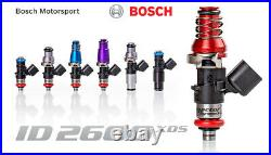 Injector Dynamics High Imp. 2600XDS Fuel Injectors for Holden Commodore E-HSV
