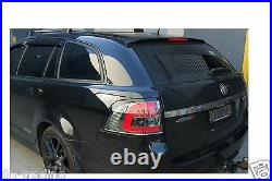 LED SMOKE TAIL LIGHTS for Holden Commodore Wagon VE VF & HSV E and Gen-F Series