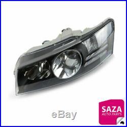 Left Black Headlight for Holden Commodore VZ SS/Calais/Crewman/HSV 2004-2007
