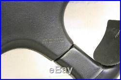 MOMO 4 SPOKE LEATHER STEERING WHEEL Typ M38 / KBA 70056 New old stock, RARE