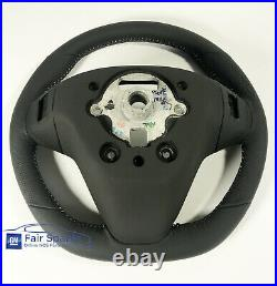 NEW VF HSV Clubsport Holden Commodore SS SSV Black Leather Sports Steering Wheel