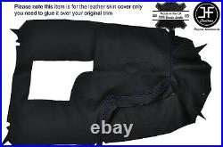 Purple Stch Centre Console Leather Cover For Holden Commodore Vr Vs Hsv Ss 93-97
