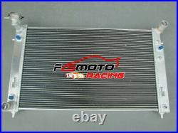 Radiator + BLACK HOSE For Holden Commodore VT VU VX HSV 3.8L V6 Petrol 97-02 AT