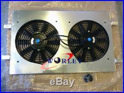 Radiator Shroud Fan & BLK Hose for Holden VT VX VU HSV Commodore V8 GEN3 LS1 5.7