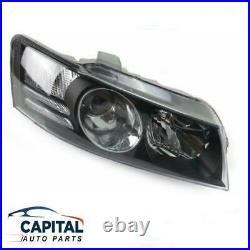 Right Black Headlight for Holden Commodore VZ SS/Calais/Crewman/HSV 2004-2007