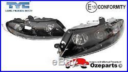 Set Pair LH+RH Head Light Projector Berlina Calais HSV Holden Commodore VX VU
