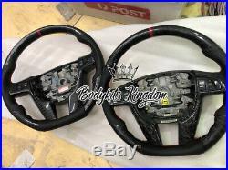 VE Commodore ss sv hsv e3 forge carbon fiber steering wheel leather alcantara