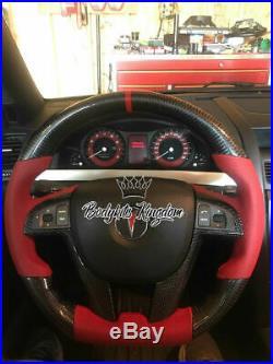 VE Commodore ss sv maloo r8 hsv e3 carbon fiber steering wheel leather alcantara