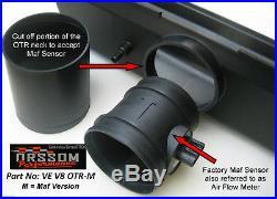 VE V8 Holden Commodore & HSV 06-11 Orssom OTR Kit Maf Bundle with Infill Panel